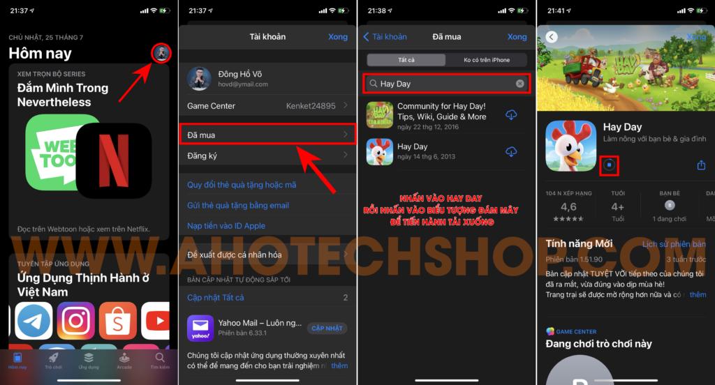, Top 2 cách tải và cập nhật game hay day ở Việt Nam nhanh nhất
